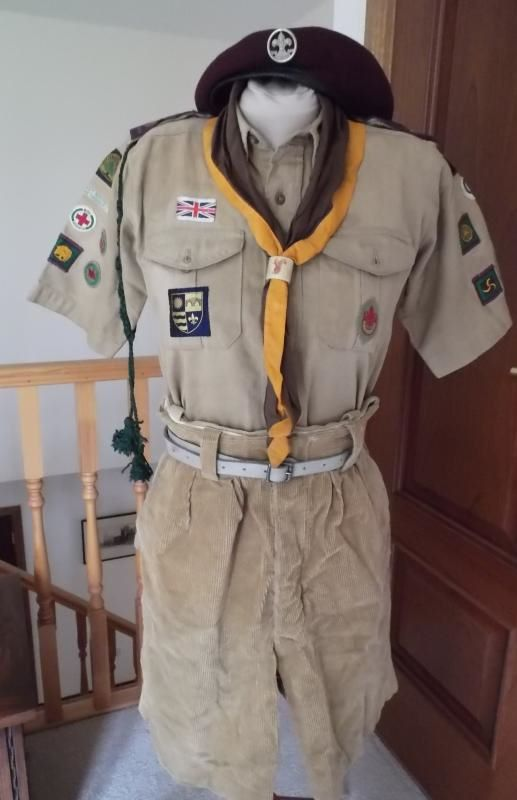 Senior Scout Uniform, Circa 1950s.