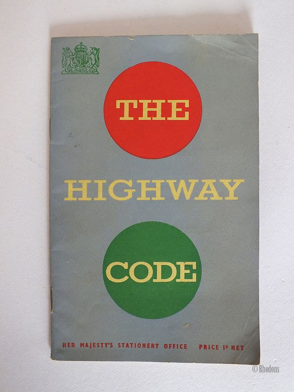 The Highway Code, 1954 Edition