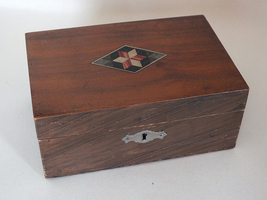 Wooden Box, Early 1900s