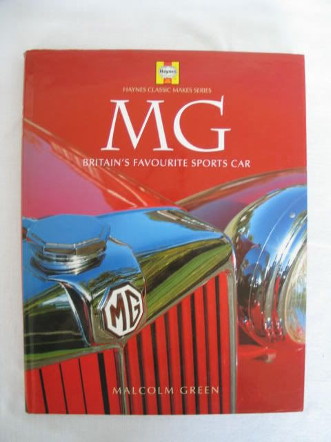 MG Britains Favourite Sports Car By Malcolm Green