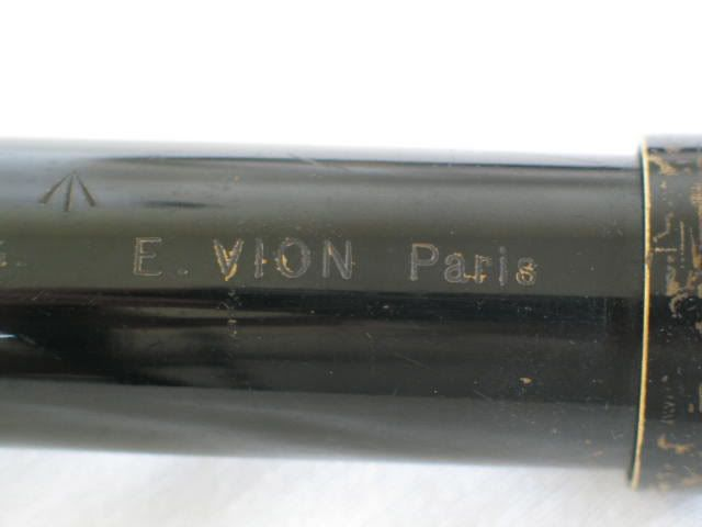 Antique Single Draw Military Telescope by Vion Paris