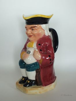 Toby Jug, The Boozer by Burlington Ware, John Shaw and Sons, (Longton) Ltd Staffordshire.