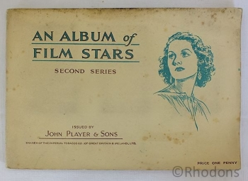 John Players Cigarette Cards, Film Stars, An Album of Film Stars (2nd Series)