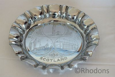 1938 Empire Exhibition Scotland Souvenir Tray