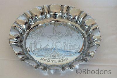 1938 Empire Exhibition Scotland Souvenir Tray