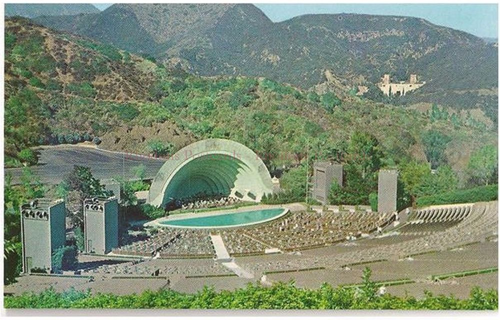 USA: California. Hollywood Bowl, Hollywood - Circa 1950s Postcard