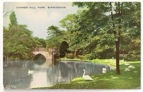 England: Warwickshire. Cannon Hill Park, Birmingham - Early 1900s Postcard