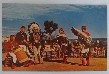 Arizona: Hopi Indian Dancers, Grand Canyon, Arizona (Petley)