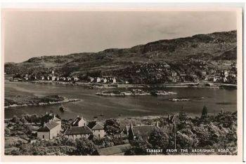 Scotland: Argyllshire. Tarbet From Ardrishaig Road. Circa 1950s RP Postcard