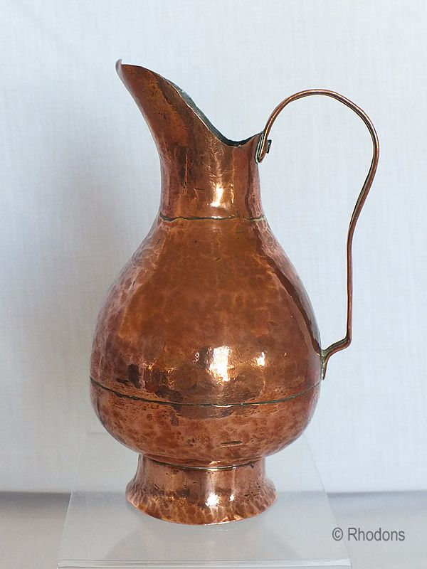 Antique Copper Jug or Ewer