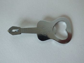 Novelty Guitar Shape Bottle Opener / Can Opener