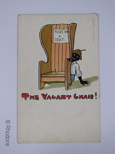 Valentines Black Americana Humourous Postcard, Early 1900s