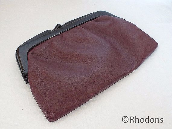 Italian Leather Clutch Bag