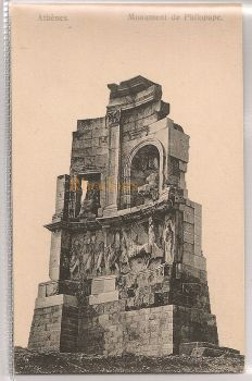 Greece: Monument De Philopape, Athens. Early 1900s Postcard