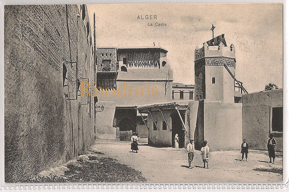 Algeria: Alger, La Casba. Early 1900s Postcard