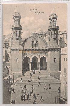 Algeria: Alger - La Cathedrale, Early 1900s Postcard