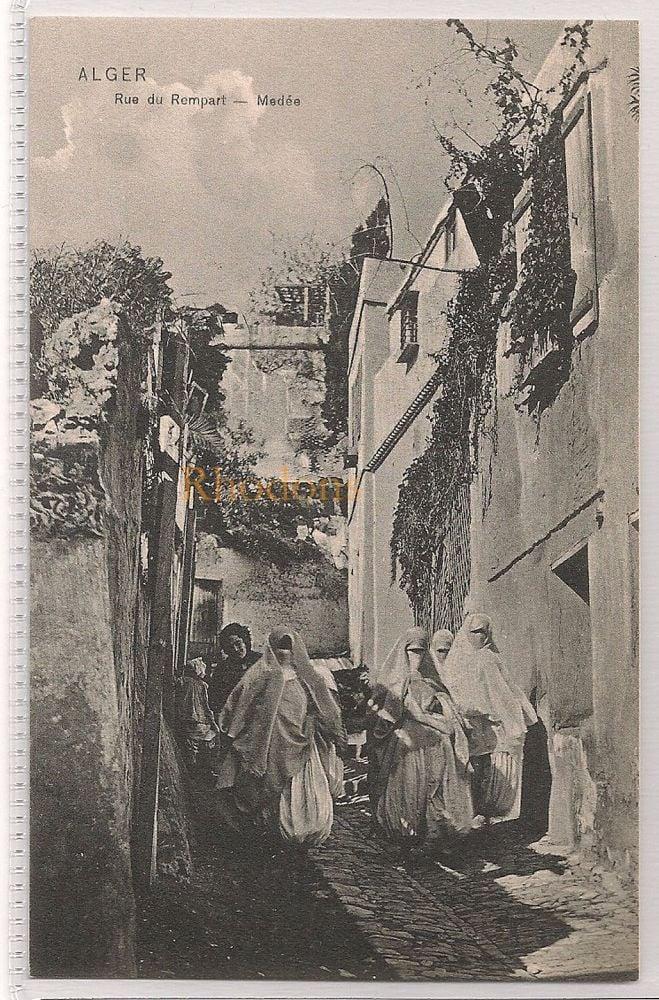 Algeria: Alger - Rue Du Rempart, Medee. Early 1900s Postcard