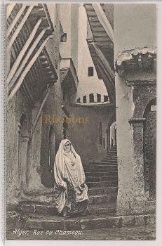 Algeria: Alger, Rue Du Chameau, Early 1900s Postcard