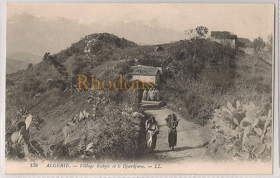 Algeria: Village Kabyle Et Le Djurdjura, Algerie. Early 1900s