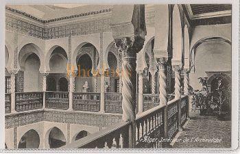 Algeria: Alger - Interieur de l'Archeveche. Early 1900s Postcard