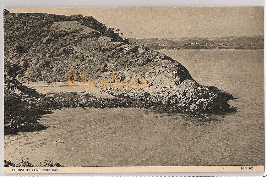 England: Devon. Churston Cove, Brixham. Early / Mid 1900s Postcard