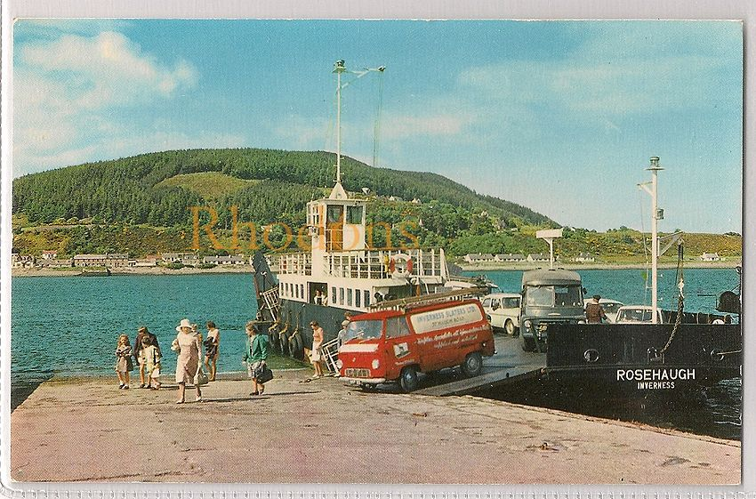 Scotland: Invernessshire, Kessock Ferry - Connecting Inverness and The Black Isle, Circa 1960s