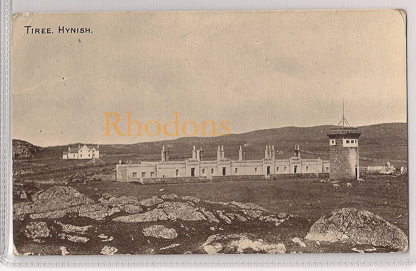 Scotland: Argyll & Bute. Inner Hebrides, Tiree Hynish. Early 1900s Postcard