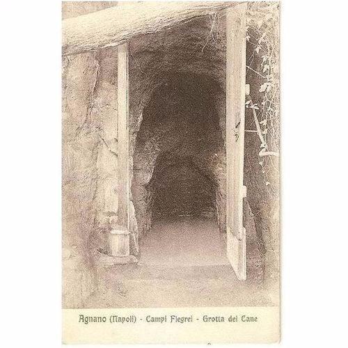 Italy: Agnano (Napoli) Campi Flerei, Grotta del Cane. Circa 1920s