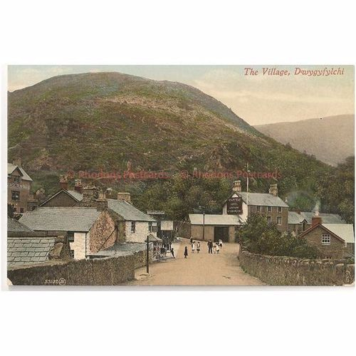 Wales: Caernavonshire, The Village Dwygyfylchi, Conwy. Early 1900s Postcard