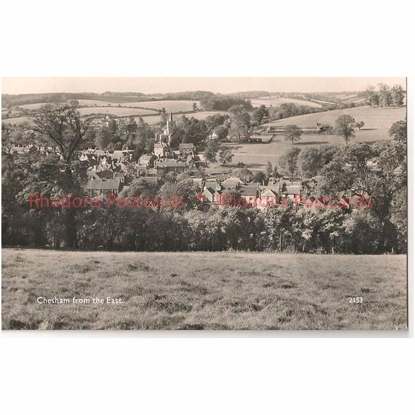 England: Buckinghamshire: Chesham From The East - 1950/60s Real Photo Postcard