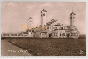 Scotland: Ayrshire. The Pavilion, Ayr. Early 1900s Postcard