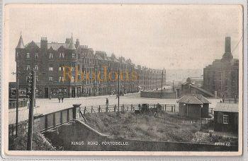 Scotland: Midlothian/Edinburgh. Kings Road, Portobello. Early 1900s Postcard