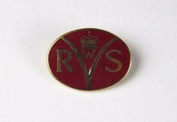 Womens Royal Voluntary Service (WRVS) Enamel Badge
