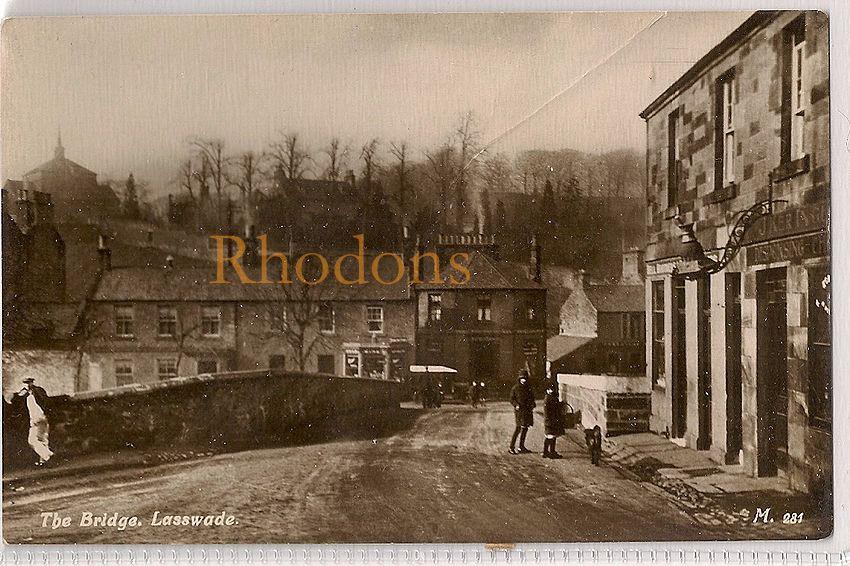 Scotland: Midlothian / Edinburgh, Lasswade - The Bridge. Early 1900s RP Pos