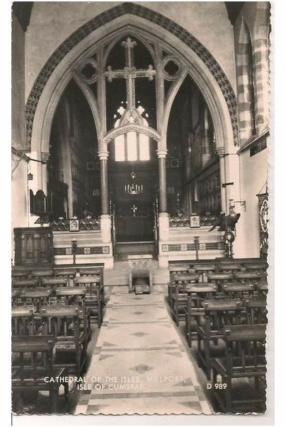 Scotland: Ayrshire, Cathedral Of The Isles, Millport, Isle of Cumbrae, Cumbrae 1960s RP Postcard