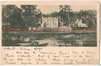 Scotland: Borders, Roxburghshire, Abbotsford House. Early 1900s UDB Postcard
