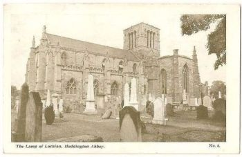 Scotland: East Lothian. Haddington Abbey, The Lamp Of Lothian, Early 1900s Postcard