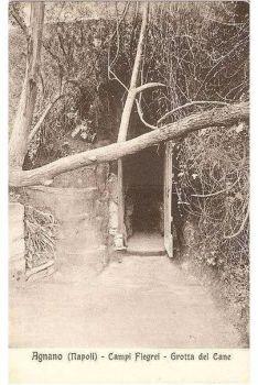 Italy: Agnano (Napoli) Campi Flerei, Grotta del Cane. 1920s Postcard