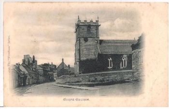 England: Dorset. Corfe Church. Early 1900s Postcard