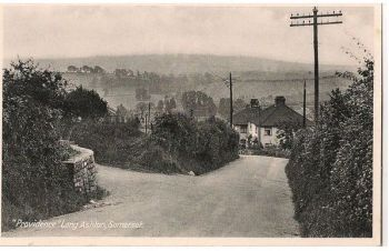 England: Somerset. Providence, Long Ashton. Early 1900s Postcard