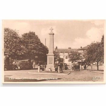 Norfolk: Swaffham, The War Memorial. Circa 1950s Postcard