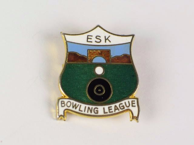 Esk Bowling Club Enamel Badge