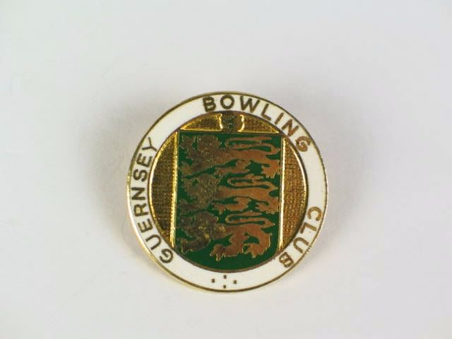 Guernsey Bowling Club Badge
