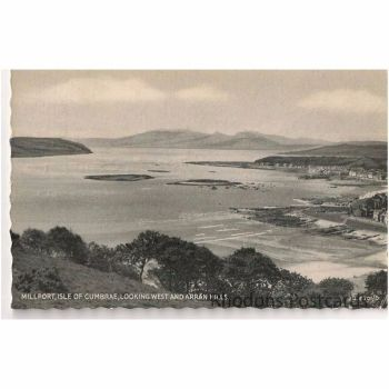 Scotland: Ayrshire. Millport, Isle of Cumbrae. 1950s RP Postcard