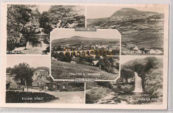 England: Yorkshire: Ingleton 1950s Multiview RPP