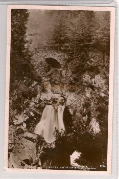 Scotland: Perthshire, Lower Falls Of Bruar Struan. Early 1900s Real Photo Postcard