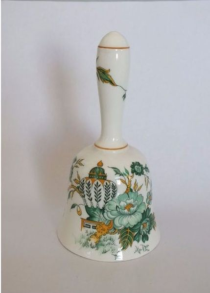 Crown Staffordshire Kowloon Pattern Bell