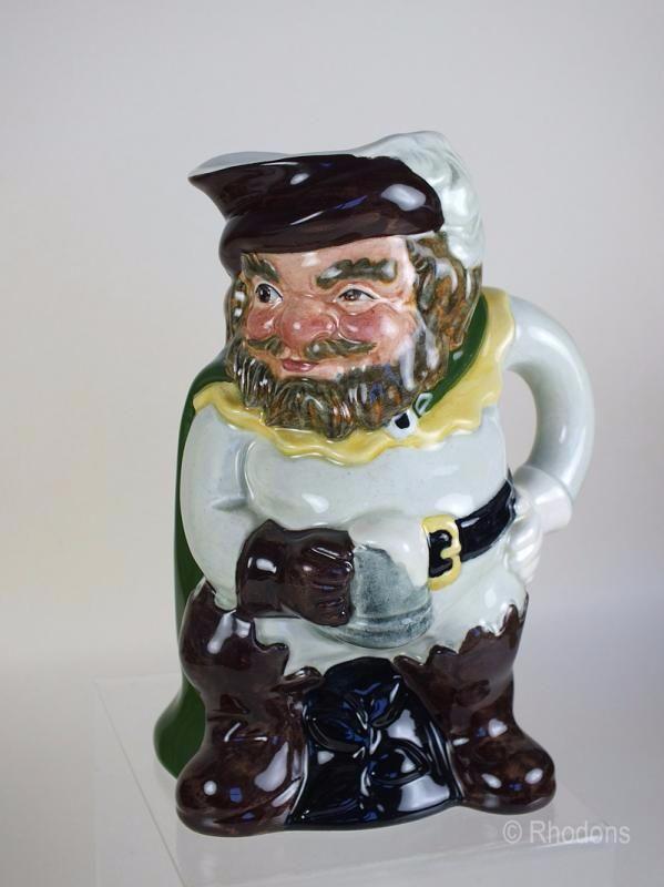 SylvaCeramics Character Jug Model #4479, Sir John Falstaff