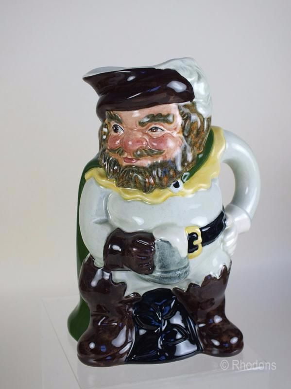 SylvaC Ceramics Character Jug Model #4479, Sir John Falstaff. Circa 1970s