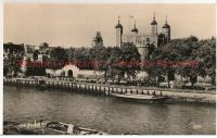 England: London. The Tower Of London. 1950s Real Photo Postcard